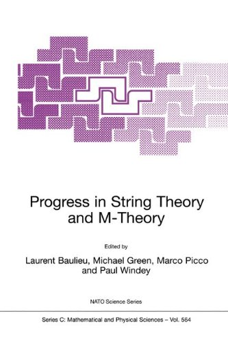 Progress in String Theory and M-Theory (Nato Science Series C:)