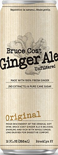 Bruce Cost Ginger Ale Original (24 pack, 12 oz can) from Bruce Cost Ginger Ale