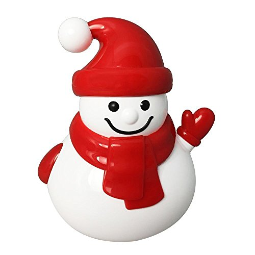 KZY Mini Bluetooth Speaker, Unique Christmas Snowman Portable Wireless Rechargeable Cute Toy Speaker with Rich Bass- Creative Gifts