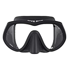 Visibility and comfort are the design focus of the Dive Rite ES155 UltraClear Frameless Mask. The wide angle of vision provided by the single lens, and by not having the frame of the mask over the nose, increases overall underwater visibility...