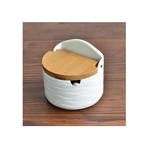 Herb & Spice Tools | 1Pcs Creative Type European Ceramic Cover Seasoning Jar Salt Can Seasoning Jar Salt Shaker | By ATUTI by ATUTI
