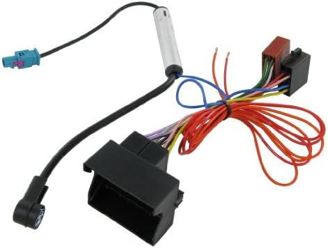 Connects2 Ct20vx03 Opel Vectra Astra Corsa Kabelbaum Adapter Mit Fakra Antenne Elektronik