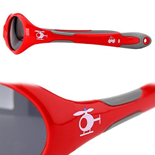 Sole In Regalo Polarizzati Indistruttibili Occhiali 0 Flessibile Gomma Ragazzi 100 Activesol Per Natale Bimbi Protezione Elicottero 400 Piccoli Grammi Anni Uv Di 2 18 s Da 1EwCO