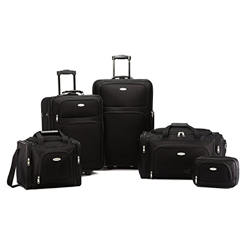 Samsonite Nobscot 5 Piece Luggage Set Black