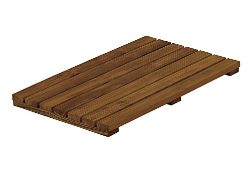 Conair Home Solid Teak Bathroom Mat (Mat Shower Conair)
