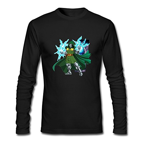 Doctor+Doom+shirts Products : RUIFENG Men's Doctor Doom Long Sleeve T-shirt
