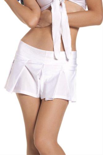 [School Girl Mini Skirt Costume Accessory - Medium/Large - Dress Size 8-12] (Creative Cowgirl Costume)