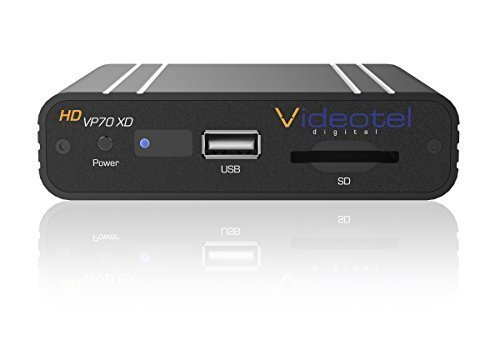 VP70 XD Industrial and Commercial Grade Seamless Auto Looping Digital Media Player, Auto Start, Auto Plays  &  Auto Loops Seamlessly loops Video files, picture files or a mixture of files