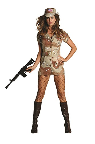 RG Costumes Women's Storm Fox, Tan/Brown, Small/2-4 -