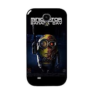 Samsung Galaxy S4 I9500 Cartoon Minion Phone Case, Comic Design Despicable Me Cartoon Minions Cover Case Snap on Samsung Galaxy S4 I9500