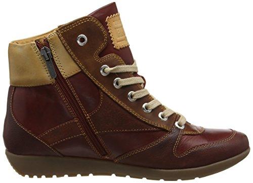 Collo Alto A Rosso i17 W67 Lisboa arcilla Pikolinos Donna Sneaker nqXFaBHO