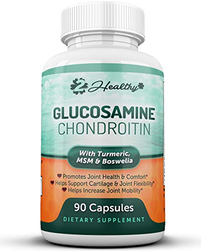 Glucosamine Chondroitin MSM Turmeric Boswellia
