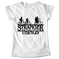 Blusa Stranger Things Colores Playera Bicicletas 038