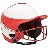 RIP-IT Vision Pro Softball Helmet ft. Blackout Technology, 6 - 6 7/8-Inch