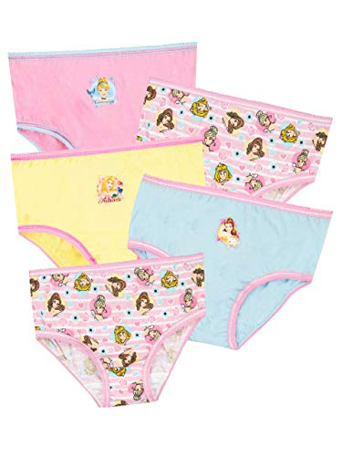 (Disney Girls' Princess Underwear Pack of 5 Size 2T)