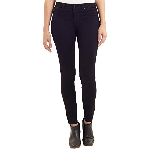 Jones New York Women's Essex Skinny Mid-Rise Stretch Jeans (Ashley Black, 6) from Jones New York