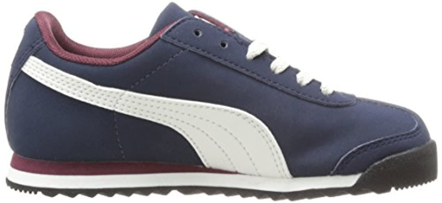 Puma Roma SL Navy Youths Trainers Size 4 UK