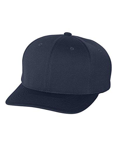 Navy Flex Fit Hat - 7