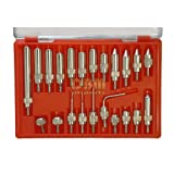 22 PC Dial Digital Indicator Point Set End Tip Kit Machinist Tool