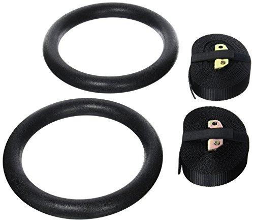 Paar Von Tragbar Turnhalle Turn- Olympic Ringe Für Crossfit Festigkeit Ausbildung ?