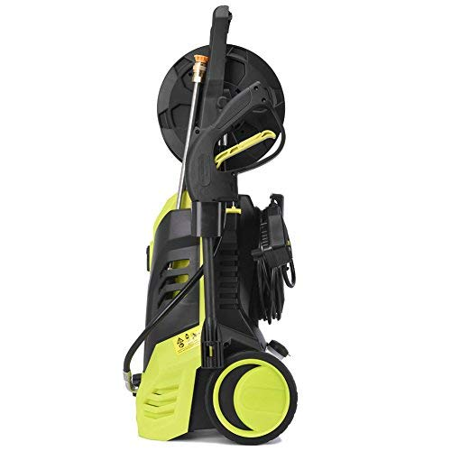Takeasy Power Pressure Washer, 2030 PSI 1.7GPM Electric High Pressure Washer Cleaner Machine w/Hose Reel,Spray Gun,Nozzles and Built in Soap/Foam Dispenser,Two Year Warranty