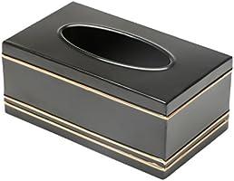 Porta Lenços de Papel de Aço Inox Tavira, Rojemac, Dourado