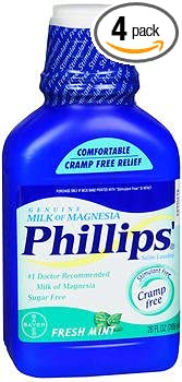 Phillips Milk of Magnesia Fresh Mint - 26 oz, ...