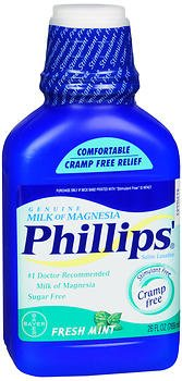 Phillips' Milk of Magnesia Fresh Mint - 26 oz, Pack of - Mint Magnesia