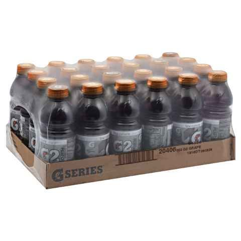 Gatorade G2 Grape, 20.0 Oz. Bottle (24 Count)