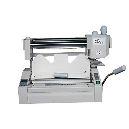 Manual Hot Melt Glue Book Binder Machine Office A4 Perfect Desktop Book Paper Binder Puncher With LCD Milling Cutter With 1 Pound Glue Pellets by Unknown (Image #4)