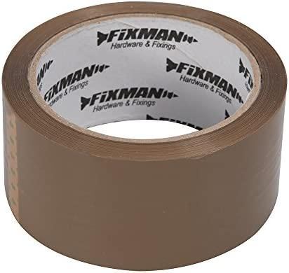 Choose Your Quantity Strong Adhesive Brown Buff Packing Tape 48mm x 66m