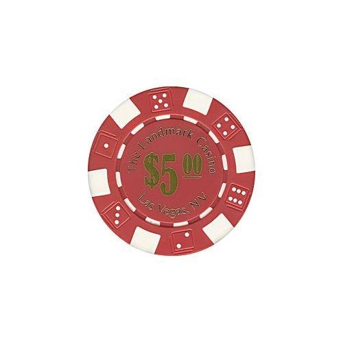 Trademark Poker Landmark Casino 100 Poker Chips (5-Piece), 11.5gm