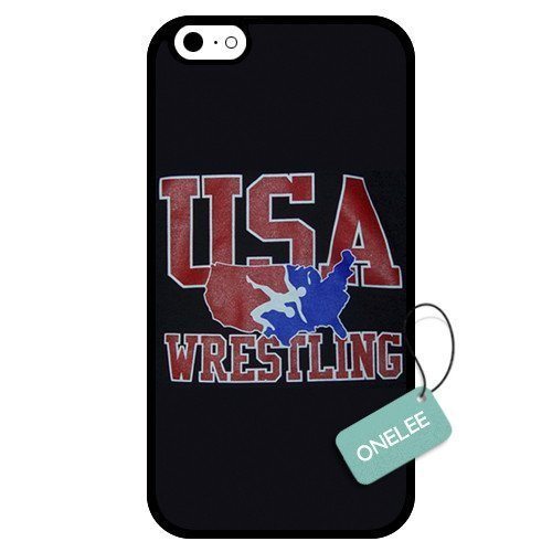 WMSHOPE® iPhone 5 5s Case Cover USA WRESTLING (5s Case Iphone Wrestling)