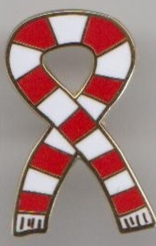 Wigan Warriors Rugby League GOLD plated 1960s Retro Style Football Scarf Pin Badge