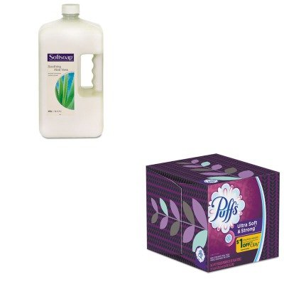 KITCPM01900EAPAG35038BX - Value Kit - Procter amp; Gamble Professional Facial Tissue (PAG35038BX) and Softsoap Moisturizing Hand Soap w/Aloe (CPM01900EA) by Procter & Gamble