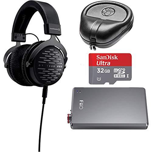 - Beyerdynamic DT 1990 PRO 250 Ohm Open Studio Headphones with Slappa Case & Accessories Bundle
