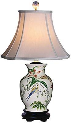 Tulip Vase Porcelain Table Lamp