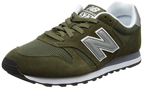 New Balance Mens 373 Trainers, Green, 7.5 Us