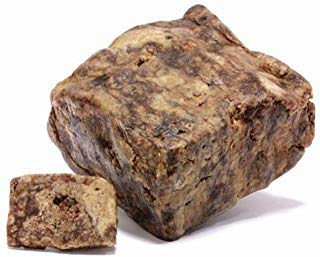 Raw African Black Soap Bar - 1 to 10 lbs Various Size by Sheanefit (African Black Soap, 5lbs) (Benefits Of Palm Kernel Oil For Hair)