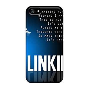 Bumper Hard Phone Cases For Iphone 5/5s With Provide Private Custom Lifelike Linkin Park Series CharlesPoirier