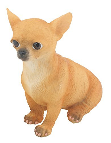 YTC Chihuahua Puppy/Dog (Tan) - Collectible Figurine Statue Sculpture