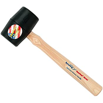 Estwing Dfh12 Red And Yellow Rubber Mallet Hammer 12