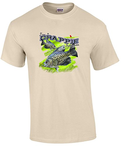 T-ShirtQueen Men's I'm A Crappie Fisherman Fishing Lure T-Shirt X-Large (Lure T-shirt)