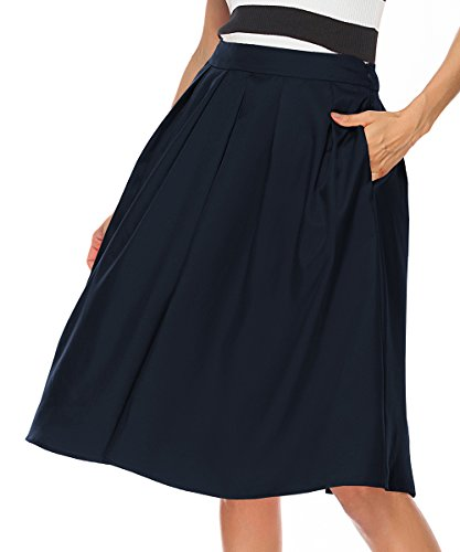 Knee Length Full Skirt - 4