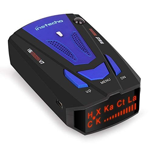 Radar Detector,Radar Detector with Voice Alert and Car Speed Alarm System with 360 Degree Detection