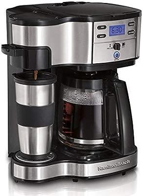 SUNHAO Cafetera Casa comercial de American café máquina cafetera ...