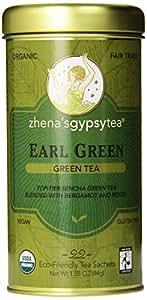 Zhena's Gypsy Tea, Earl Green, 22 Count Tea Sachets