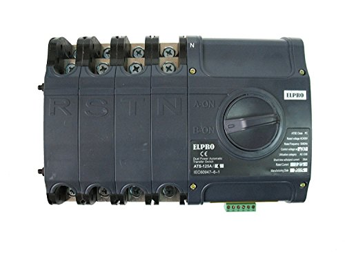 4PRO ATS-125A, 50-60Hz Automatic Changeover Transfer ()