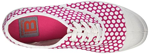 Lacet Tennis Baskets Bensimon Rose Femme Colorspots q5CdUv
