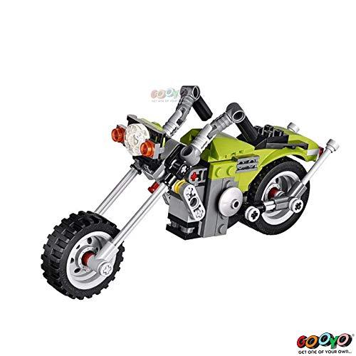 Gooyo 3 in 1 Architect Highway Cruiser Bike DIY Block Construction Set Toy  129 Pcs for Boys